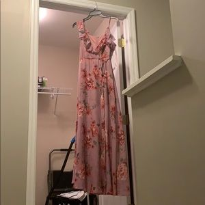 Mauve flower dress